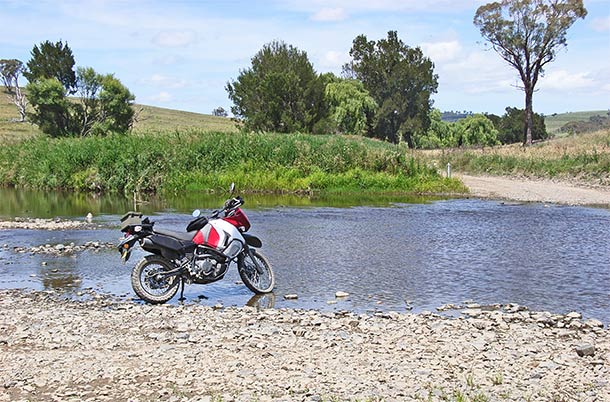 For adventure riders there are many dirt roads in the area, often with stunning scenery.